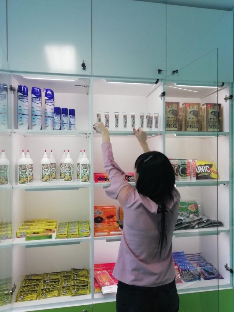 Магазин препаратов от насекомых и грызунов в Череповце Металлургов 12 тел 60-22-45